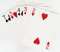 NL 2-7 Lowball Poker