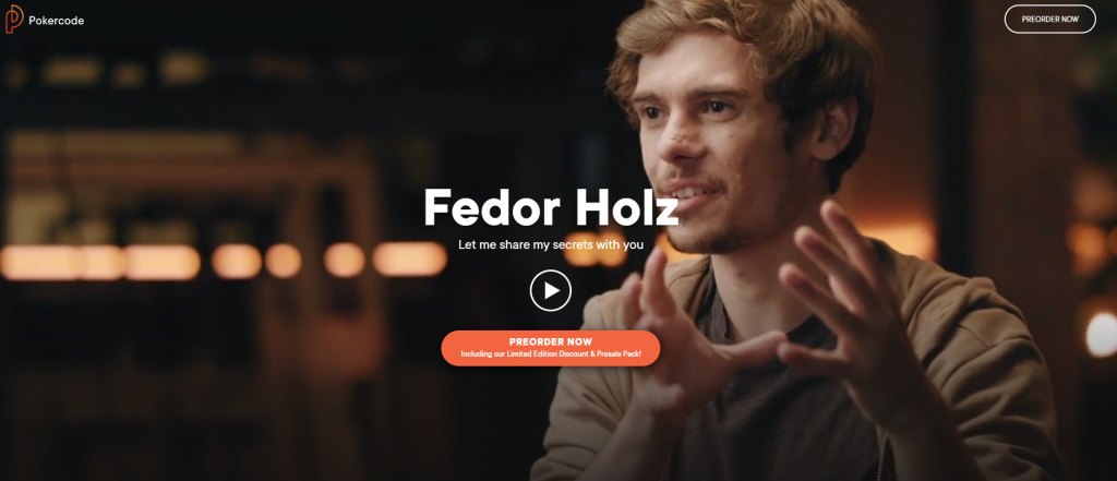 Fedor Holz Launched PokerCode