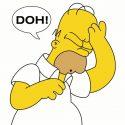 Homer Simpson Mistakes