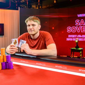 Sam Soverel 2019 British Poker Open