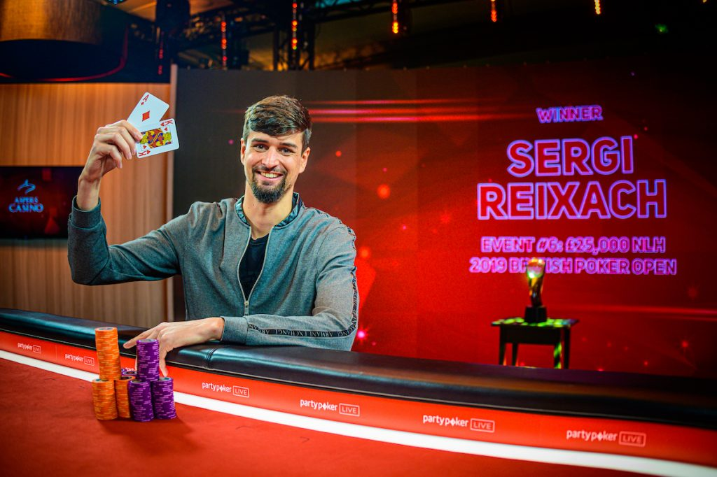 Sergi Reixach 2019 British Poker Open