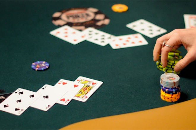 River Bet in Seven Card Stud
