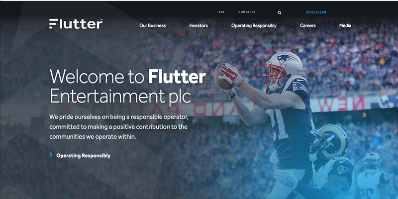 Flutter Entertainment Website