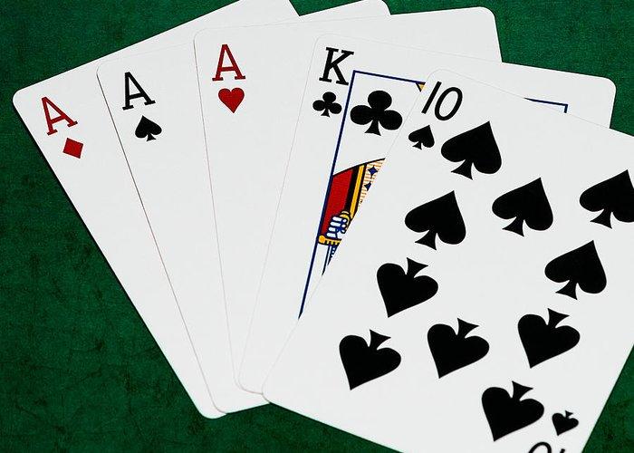 Five Card Draw - Draw Two
