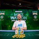 Mike Watson Australian Poker Open