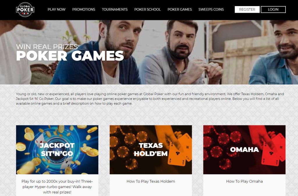Global Poker Website