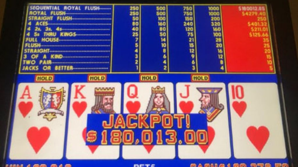 Royal Flush Video Poker