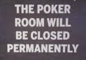Genting Poker Closed