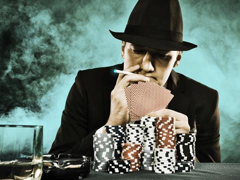 Poker Player Smoker