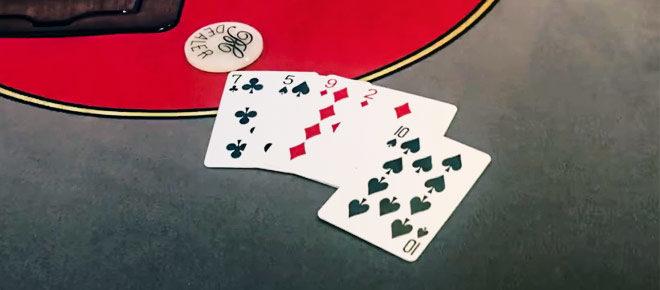 Triple Draw Lowball Hand