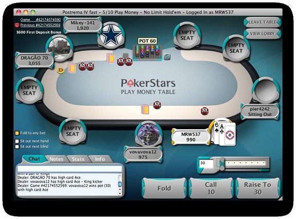 pokerstars.com software